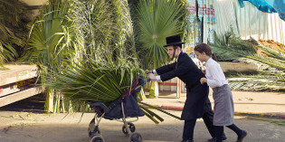 Sukkot Activities in Israel