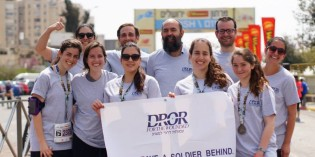 JERUSALEM MARATHON – TEAM DROR: SUPPORT WOUNDED IDF SOLDIERS