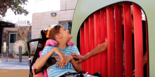 Fully-Accessible Israeli Playground for Kids with Disabilities