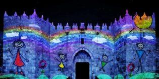 Jerusalem Light & Sound Festival is Still On!