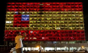 Tel Aviv Stands with Barcelona