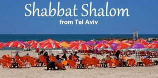 Shabbat Nachamu & Communities in Tel Aviv