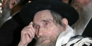 Ha'Rav Aharon Leib Shteinman ZT'L – Levaya Details and Jeremy Sharon Reflects