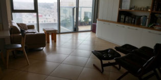 Pesach Rental in Jerusalem – Fully furnished & Excellent location