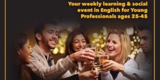 JICNY Israel Presents: Shiur & Beer – Every Wednesday at 20:00
