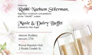Chabad of Baka: 10th Anniversary, Yud Shvat Melave Malka