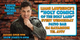 "TONIGHT with Keep Olim in Israel – ""Holy Comics of the Holy Land"""