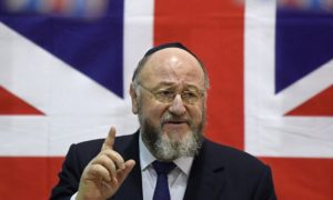 UK CHIEF RABBI: LABOUR GUIDELINES SHOW 'UNPRECEDENTED CONTEMPT' FOR JEWS