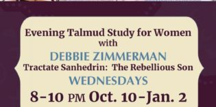 Nishmat: Womens's Learning Initiative with Debbie Zimmerman