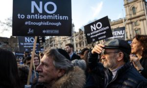 Corbyn to blame? UK Jews suffering increase in religious hate crime.