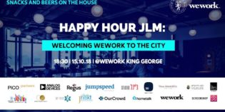 HappyHourJLM: Welcoming WeWork to the City
